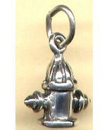 Sterling Silver Fire Hydrant Charm - $3.99