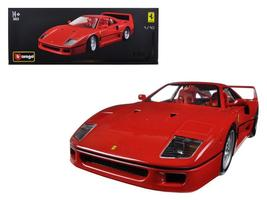Ferrari F40 Original Series 1:18 Diecast Model Car by Bburago - $96.46+