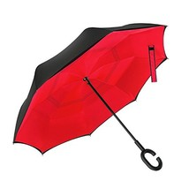 Ylovetoys Inverted Double Layer Windproof Reverse Umbrella for Car and O... - $30.82