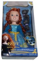 Ribelle Brave Merida with Bear Brothers Doll 15inch Jakks - $22.00