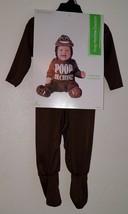 NEW Poop Machine Emoticon Halloween Costume Baby 6-12 Months Brown Jumpsuit - $19.75