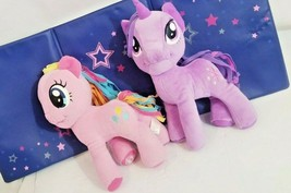 My Little Pony Unicorn Pair Pink pinkie pie Purple Twilight Sparkle Plush Toy - $29.30
