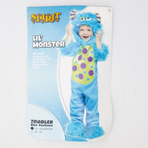Spirit Lil Monster Costume Infant Toddler Like Sully Size 12 to 24 Mo Blue Fur - $22.95