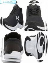 New Balance Women's 711 v3 Cross Trainer 7.5, Black/White Heather - $70.30
