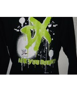 """Vintage WWE D-Generation X """"Are You Down"""" Long Sleeve Medium - $19.99"""
