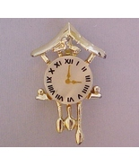 FREEBIE Vintage Cuckoo Clock Lapel Pin mother o... - $0.00