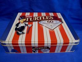 Nestle Chocolates TURTLES Tin 60th. DIAMOND ANNIVERSARY Souvenir Collector  - $9.95