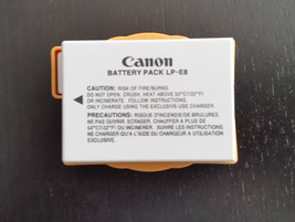CANON LP-E8 REBEL T2I T3I T4I 550D 600D 650D CAMERA LP E8 BATTERY LPE8 New - $23.99
