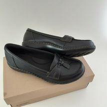 CLARKS Womens Ashland Bubble Slip-On Loafer- Black Sz 7M image 4