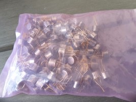 (100) 2N3725 GOLD ED  RARE NEW TRANSISTOR GOLD  (LOT OF 100) GOLD SCRAP $99 - $98.01