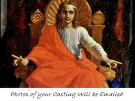 KING SOLOMON'S WISDOM Spell .Pics of Casting Incl. Brings Great Wisdom & Power - $22.60