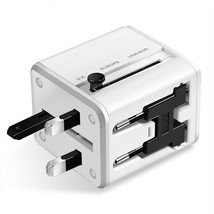 Universal USB Charger Wall Converter Travel Adapter US EU UK AU Plugs 2 Ports