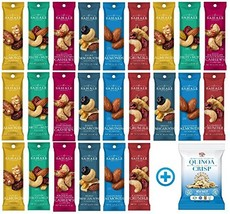 Sahale Snacks All Natural Nut Blends Grab And Go Variety Pack 1.5 oz x 24 Packs