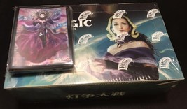 MTG War of the Spark Booster Box Japanese ver & Limited Liliana sleeve x 50 set - $198.00