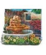 Country Garden Mini-Fountain (Table Top) - $18.99
