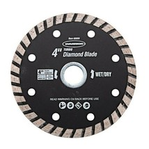4 In. Turbo Wet / Dry Masonry Diamond Blade or 3 Piece Masonry Diamond B... - $27.26+