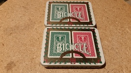 Vintage Bicycle Playing Cards - Two Tin's and Two Decks of cards - $25.00