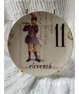 Williams Sonoma 12 Days Of Christmas Plate 11 Pipers Piping #11 Table De... - $14.99