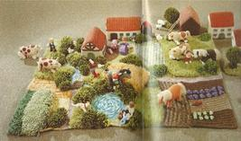 REDUCED~The Knitted Farmyard Knitting Pattern Leaflet~RARE~HTF - $35.99