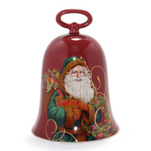 A Christmas to Remember 2004 HALLMARK Red Porcelain ST. NICHOLAS Holiday... - $1.85