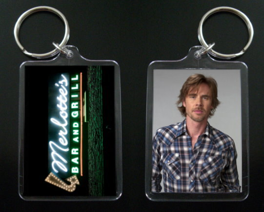 Primary image for TRUE BLOOD keychain SAM MERLOTTE Sam Trammell