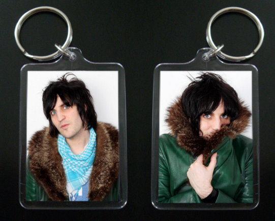 Primary image for THE MIGHTY BOOSH keychain VINCE NOIR Noel Fielding