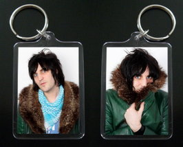 THE MIGHTY BOOSH keychain VINCE NOIR Noel Fielding - $7.99