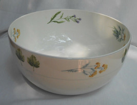 "Mikasa Natures Harmony Wildflowers Y4006 Vegetable Salad Serving Bowl 9 1/2"" - $29.44"