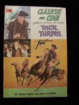 Comic Book Mexican Dick Turpin Walt Disney Clasicos Del Cine - $12.99