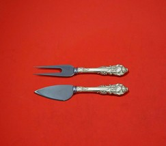 Sir Christopher by Wallace Sterling Silver Hard Cheese Serving Set 2pc Custom  - $109.00