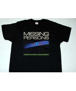 MISSING PERSONS destination unknown T shirt ( Men S - 3XL ) - $21.00+