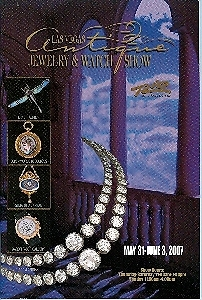 Primary image for 2007 Las Vegas Antique Jewelry & Watch Show Program
