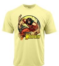 Warpath Dri Fit graphic Tshirt moisture wicking superhero comic book Sun Shirt image 2