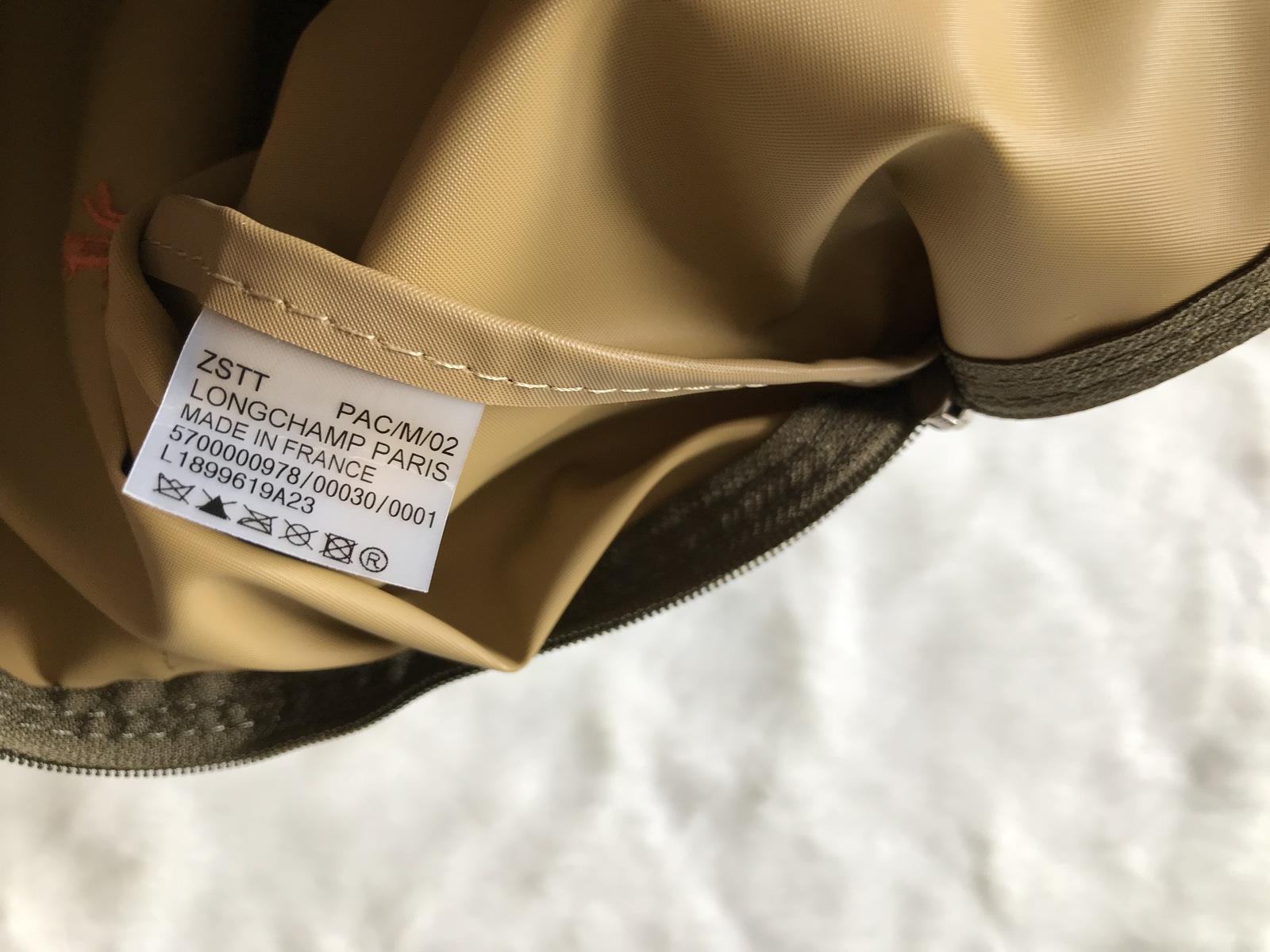 Longchamp Club Le Pliage Bag Yellow Khaki Large L1899619A23