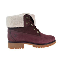 Timberland Jayne Waterproof Fleece-Lined Women's Boots Burgundy TB0A1SGJ - $129.95