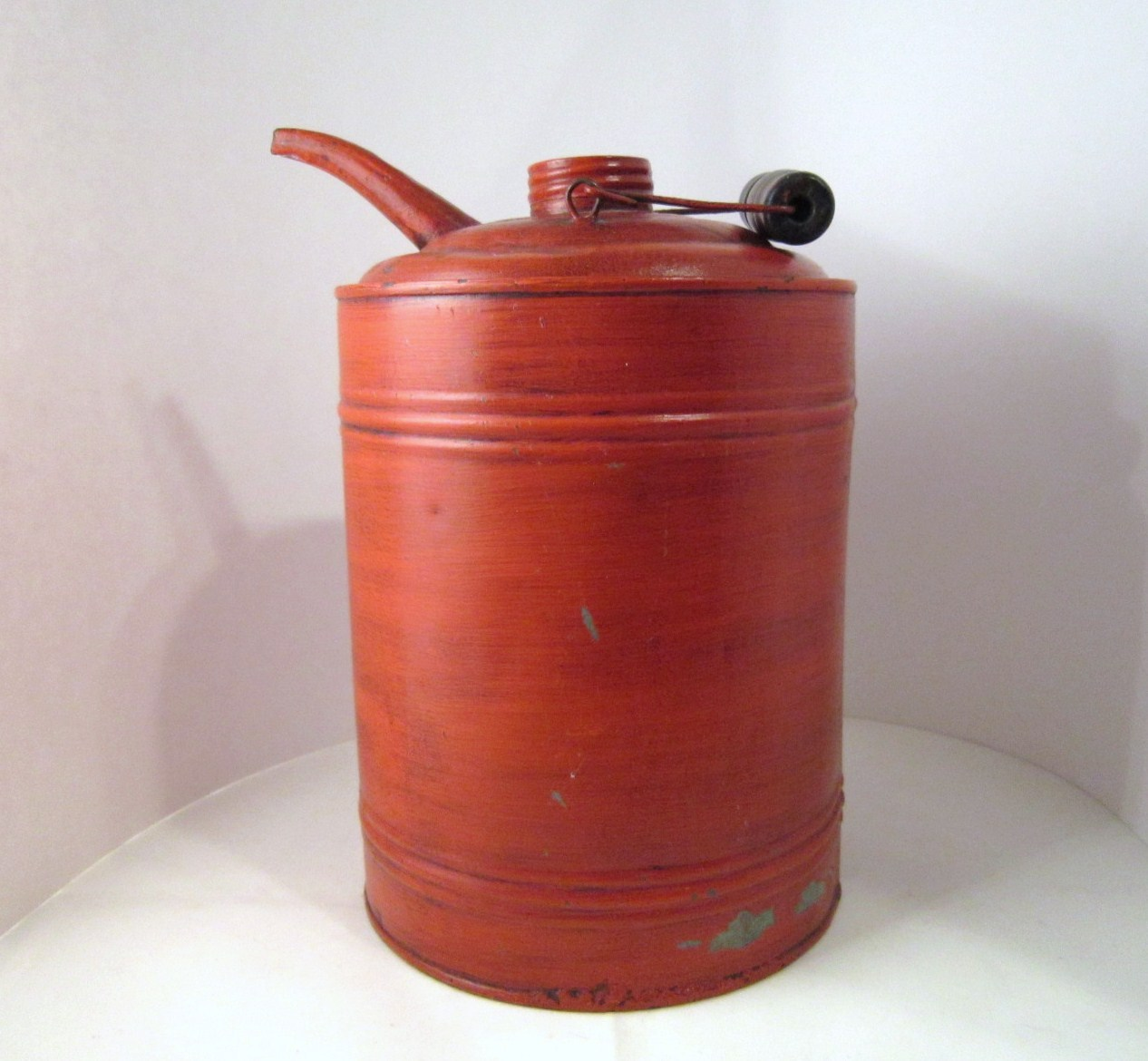 Coal Oil Bucket, Kerosene Can, Cream City by Geuder, Paeschke and Frey