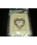 "BANAR DESIGN COUNTED CROSS STITCH KIT. ""WELCOME FRIENDS"".  - $4.99"