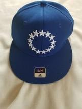 Philadelphia 76ers NBA Men's adidas Flex Fitted Flat Visor Hat, Size Sm/... - $13.28