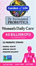 Garden of Life Dr.Formulated Women's Daily Care 40 Billion PROBIOTIC 30 capsules - $21.00