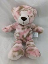 "Nat & Jules Pink Camo Bear Plush 13"" 2015 Stuffed Animal Toy - $19.95"