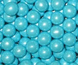 Powder Blue Shimmer Sixlets Candy 5LB Bag (Bulk) by Sixlets - $30.75