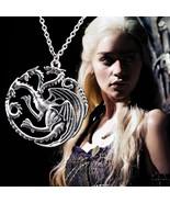 Game of Thrones  Ice and Fire | Compass | Targaryen Dragon | Pendant Nec... - $5.31