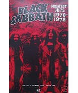 BLACK SABBATH POSTER, GREATEST HITS PROMO (B4)    - $8.59