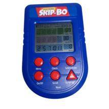 Electronic Skip-Bo Handheld card Game Mattel 2002 Tested WORKS w/ Batter... - $29.88