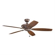 Kichler 310193TZP Tulle Patio Ceiling Fans 60in  - $359.00