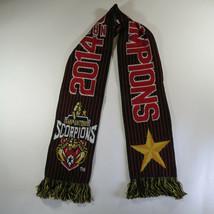 2014 NASL Soccer Champions San Antonio Scorpions Scarf 60 x 7 Reversible... - $19.75