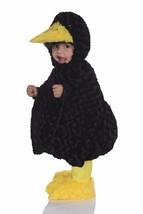 Underwraps Negro Crow Vientre Bebés Pájaro Niños Disfraz Halloween 25870 - $31.49