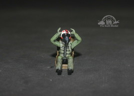 Seated USAF Pilot 1:48 Pro Built Model #6 - $14.85