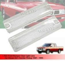 Front Bumper White Light Lens For Nissan D21 Frontier Pickup 1987 - 1995 - $8.21