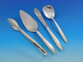 Silver Rhythm by International Sterling Silver Essential Serving Set Small 4 pcs - $179.00